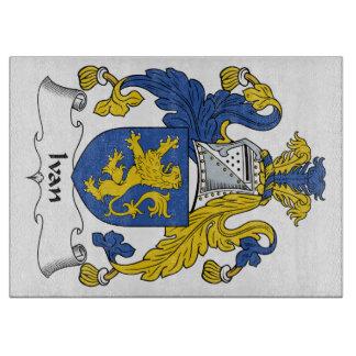 Escudo de la familia de Ivan Tabla De Cortar
