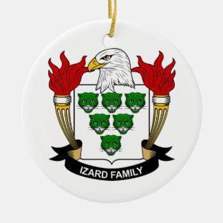 Escudo de la familia de Izard Ornamente De Reyes