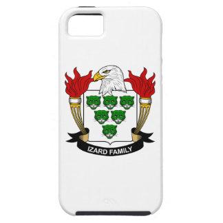 Escudo de la familia de Izard iPhone 5 Case-Mate Funda