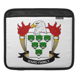 Escudo de la familia de Izard Fundas Para iPads