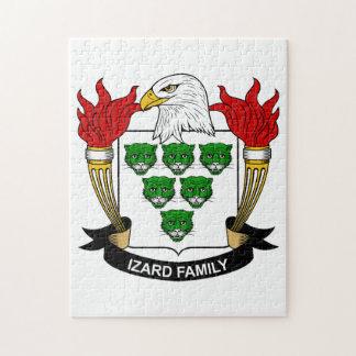 Escudo de la familia de Izard Rompecabeza
