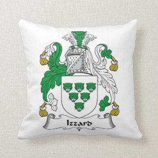 Escudo de la familia de Izzard Almohadas