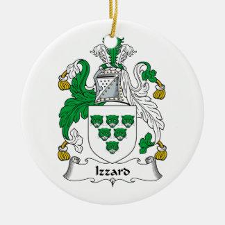 Escudo de la familia de Izzard Ornamento De Reyes Magos