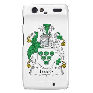 Escudo de la familia de Izzard Motorola Droid RAZR Carcasas