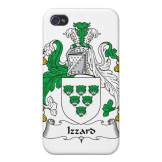Escudo de la familia de Izzard iPhone 4 Carcasas