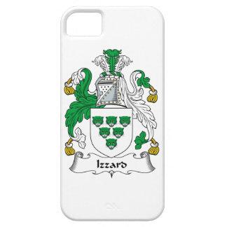 Escudo de la familia de Izzard iPhone 5 Coberturas