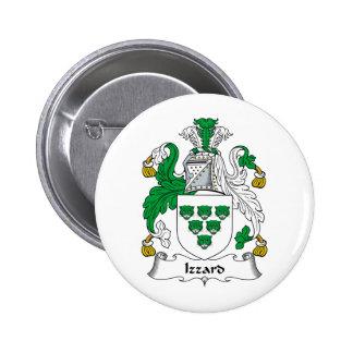 Escudo de la familia de Izzard Pin