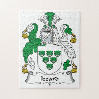 Escudo de la familia de Izzard Rompecabezas