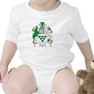 Escudo de la familia de Izzard Trajes De Bebé