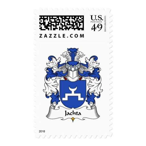 Escudo de la familia de Jachta Sellos Postales
