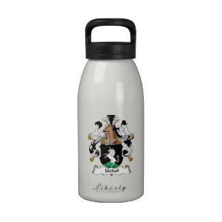 Escudo de la familia de Jackel Botellas De Agua Reutilizables