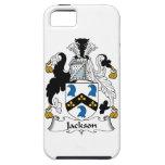 Escudo de la familia de Jackson iPhone 5 Carcasas