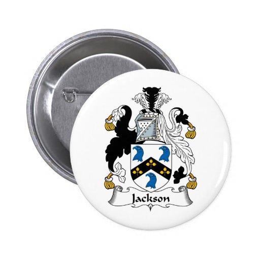 Escudo de la familia de Jackson Pin