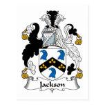 Escudo de la familia de Jackson Postal