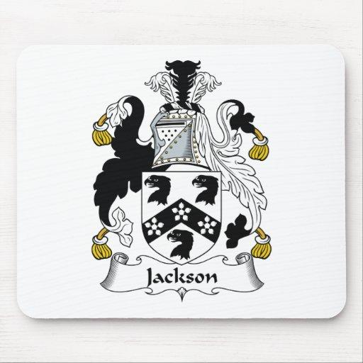 Escudo de la familia de Jackson Alfombrilla De Ratones