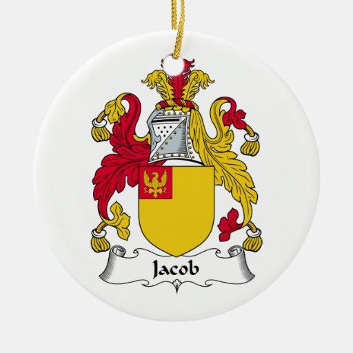 Escudo de la familia de Jacob Adorno Redondo De Cerámica