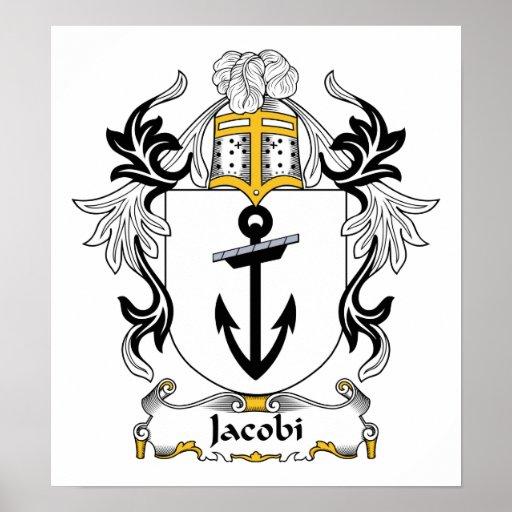 Escudo de la familia de Jacobi Poster