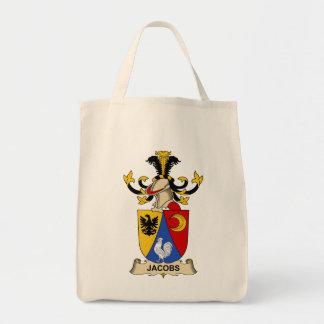 Escudo de la familia de Jacobs Bolsa Tela Para La Compra