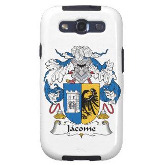 Escudo de la familia de Jacome Galaxy S3 Cárcasa