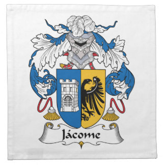 Escudo de la familia de Jacome Servilletas De Papel
