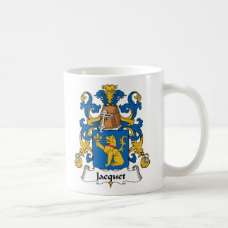 Escudo de la familia de Jacquet Taza De Café