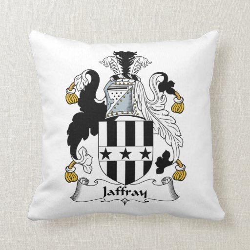 Escudo de la familia de Jaffray Almohada