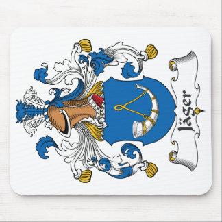Escudo de la familia de Jager Tapetes De Ratón