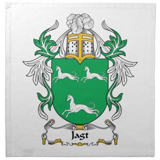 Escudo de la familia de Jagt Servilletas Imprimidas