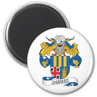 Escudo de la familia de Jaimes Imán Redondo 5 Cm