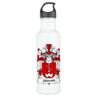 Escudo de la familia de Jalowski Botella De Agua De Acero Inoxidable