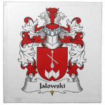 Escudo de la familia de Jalowski Servilletas De Papel