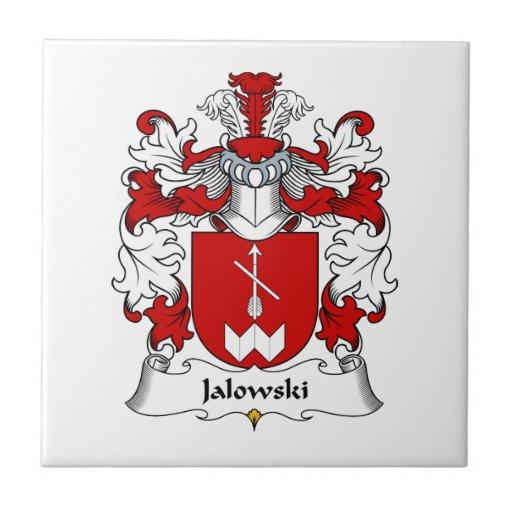 Escudo de la familia de Jalowski Teja