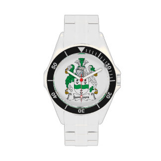Escudo de la familia de Jamieson Reloj