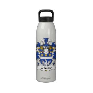 Escudo de la familia de Jankajtys Botella De Agua Reutilizable