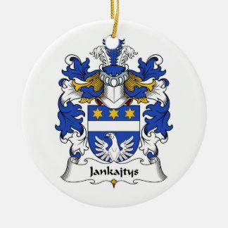 Escudo de la familia de Jankajtys Ornamento Para Reyes Magos