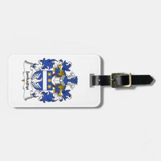 Escudo de la familia de Jankajtys Etiquetas De Maletas