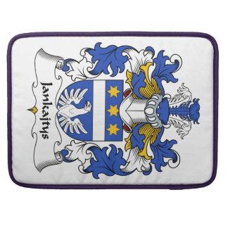 Escudo de la familia de Jankajtys Fundas Para Macbook Pro