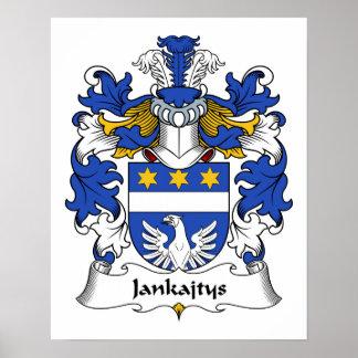 Escudo de la familia de Jankajtys Impresiones