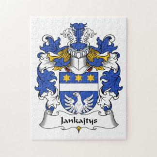 Escudo de la familia de Jankajtys Puzzles