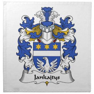 Escudo de la familia de Jankajtys Servilletas De Papel