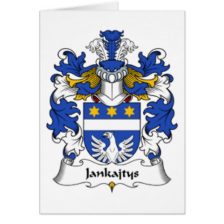 Escudo de la familia de Jankajtys Tarjetón