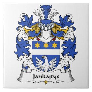 Escudo de la familia de Jankajtys Tejas Cerámicas