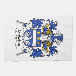 Escudo de la familia de Jankajtys Toallas De Mano
