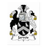 Escudo de la familia de Jarveis Postal