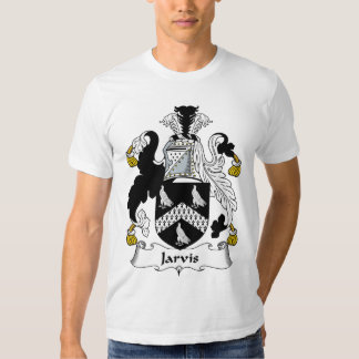 Escudo de la familia de Jarvis Camisas