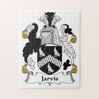Escudo de la familia de Jarvis Rompecabezas