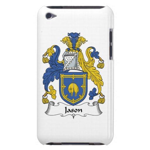 Escudo de la familia de Jason iPod Touch Case-Mate Carcasa