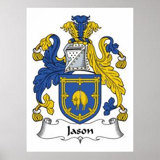 Escudo de la familia de Jason Póster