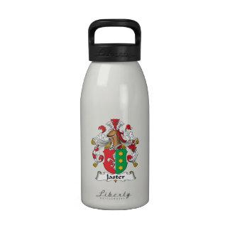 Escudo de la familia de Jaster Botella De Agua Reutilizable