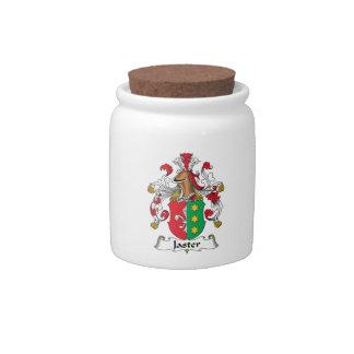 Escudo de la familia de Jaster Jarras Para Caramelos